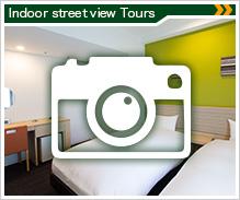 Googleインドアビュー 館内や客室を360度見渡せます